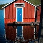 Båthus i Dalarna