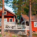 Sjön Gimmen i Dalarna