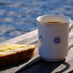 Breakfast by the lake