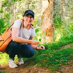 Hanna på skogstur