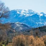 The Atlas mountains ahead