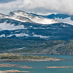 Vatten, berg och is