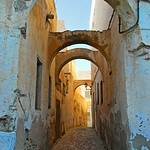 Arches and streets, Kairouan