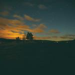 Höstnatt vid sjön